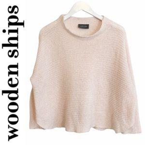 BOGO! Wooden Ships Boxy Wool Mohair Sweater